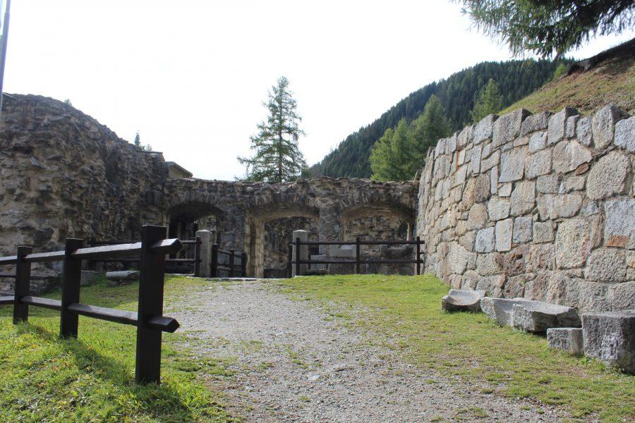 Passo del Tonale Forte Strino