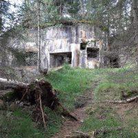 551 Bunker al Passo Tre Croci