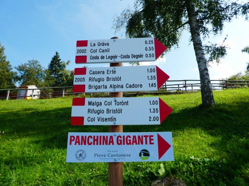 Panchina gigante